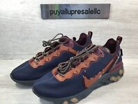 "Men's Nike By You React Element 55 ""Pendleton"" CK5067-991 Size 10.5"