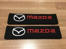 2X Seat Belt Pads Cotton Gifts Mazda CX3 CX5 CX7 Mazda 2 3 6 MX5 RX8 Sport CX TD