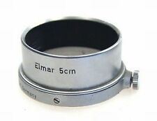 LEICA CHROME SLIP ON VINTAGE LENS HOOD SHADE ELMAR 5cm