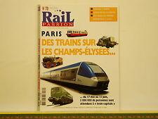 Revue RAIL PASSION 070 - Lorraine - Train Capitale - Athus-Meuse - Trams Anvers
