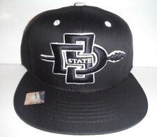 5593a69d5 San Diego State Aztecs Adjustable Snapback Hat Embroidered Cap NCAA Black
