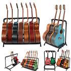 Guitar Holder Rack Stand Multi-Instrument Floorstand Holds up to 3/5/7/9 Guitars