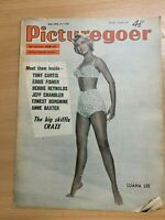 6 JULY 1957 PICTUREGOER MAGAZINE - TONY CURTIS / ERNEST BORGNINE