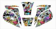 MILLER ELITE WELDING HELMET WRAP DECAL STICKER SKINS  jig welder graffiti eye