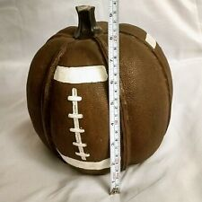 """Robert Stanley Signature Collection Fall 9"""" Brown Pumpkin Stitched Football"""