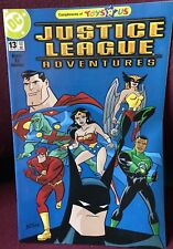 Justice League Adventures #13 - Toys 'R Us Variant - July 2003 - Hard to Find