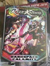 RELIC KNIGHTS DARKSPACE CALAMITY Hardcover Rulebook Soda Pop New/Sealed