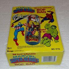"""VINTAGE MARVEL SUPER HEROES BOP BAG 36"""" BRAND NEW"""