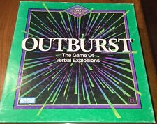 Vintage Outburst Game by Parker Brothers - 1994 Edition - 100% Complete!