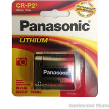 Panasonic CRP2, EL223, K223LA Battery, 6.0 volt Lithium