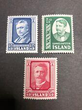 Iceland Scott 284-6 Mint OG VLH/NH CV $54.75