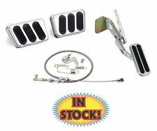 Lokar 1969-70 Mustang Pedal Kit w/ Throttle Cable Set Manual Trans- BAG-6117