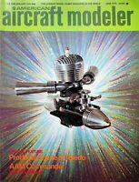 Vtg American Aircraft Modeler Magazine June 1973 AAM Commander 8-Channels  m189