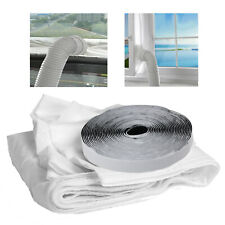 Window Seal Kit for Portable Air Conditioning Universal Sealing Zip Hose Vent