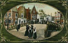 1910 Bruxelles Exposition Bruxelles Kermesse Sur le Pont Brussels