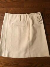 NWT Theory White Skirt Size 2 $195.00 Retail
