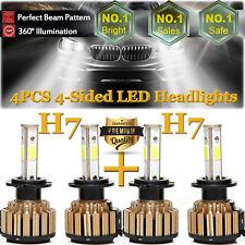 H7+H7 Led Car Headlight Kit Bulbs 204W High-Loo Beam For Audi A3 A4 A5 Q5 Tt Bmw(Fits: Audi)