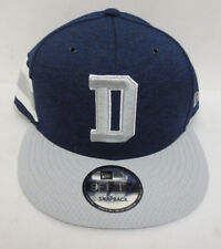 DALLAS COWBOYS 2018 HOME D SIDELINE HAT SNAPBACK 9FIFTY NEW ERA MENS NFL NAVY