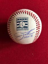 "Jim Thome, ""Autographed"" (JSA) Hall of Fame Baseball w. HOF 2018 Inscription"