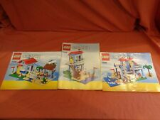Lego Creator 7346 Seaside House 3 x instructions Only Booklets