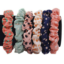 10X Women Girl Scrunchie Hair Band Rope Elastic Tie Ponytail Holder Hair Ring
