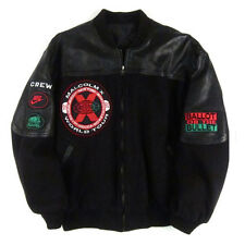 Vintage Malcom X movie Spike Lee 40 Acres and a Mule Varsity jacket Hip Hop Rap