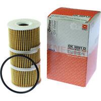 Original MAHLE Ölfilter OX 389/1D Oil Filter