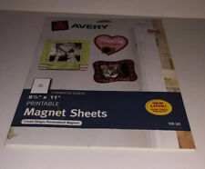 Avery 8.5 inch x 11 inch printable inkjet magnetic sheets 53208 Opened Package