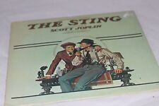 The Sting Motion Picture Soundtrack 1974 Vinyl Record