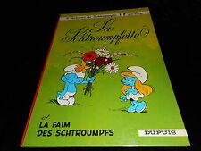 Peyo 2 histoires de Schtroumpfs La schtroumpfette / La faim des schtroumpfs 1965