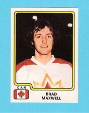 Brad Maxwell Team Canada 1979 Panini Hockey Sticker