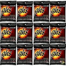 12-Pack GHS Electric Boomers GBTNT Thin/Thick Nickel Steel Guitar Strings 10-52