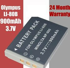 Li-80B Camera Battery Olympus X-960 X960 X-36 X36 T-100 T100 T-110 T110