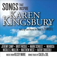 Songs That Inspire Karen Kingsbury 2010 by Karen  Ex-library . Disc Only/No Case