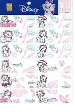 60 Cat Marie pics personalised name label (Large size)
