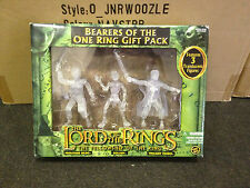 Lord Of The Rings Fellowship Twilight Anillo portadores de la figura 3 Pack Toy Biz Mib