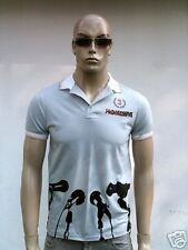 PROGRESSIV HOUSE SUPERSTAR Microfon Polo DJ T-Shirt S/M