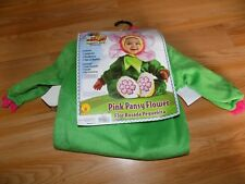 Baby Size 12-18 Months Noah's Ark Rubies Pink Pansy Flower Halloween Costume New