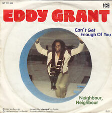 """Single 7"""" Eddy Grant """"Can´t get enough of you/Neighbour"""""""