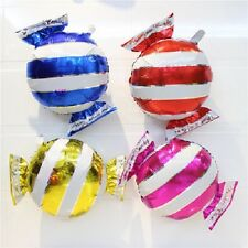 "♛ Shop8 : 12 pc CANDY Shaped 18"" Balloon  Decor Party Needs Favor"