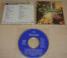 THE STYLISTICS Setting The Scene CD 1994 14trk Mercury Japan PHCA-14002