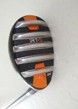 "iRT-5 Hybrid 24° - iRT-5 Regular Flex 75g Graphite - Nice Grip - RH - 39 1/4"""