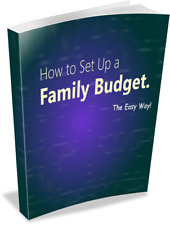 Ebook - How To Set Up a Family Budget The Easy Way