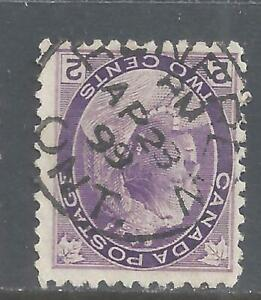 Canada SOCKED-ON-NOSE TOWN CANCEL RENFREW ONTARIO SCOTT 68 VF USED (BS20225)