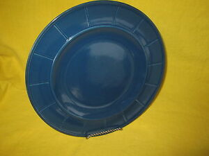 Country Living Blue DINNER PLATE have more items to set Lines
