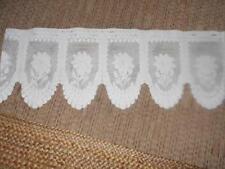 Unbranded Net Floral Curtains & Pelmets
