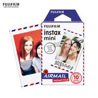 Fujifilm Instax Mini Film Airmail 10 Sheets Pictures-Fuji Instant 7s 8 9 90 J4C9
