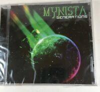 Mynista CD Generations 2010 Warria Records Sealed