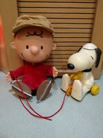 Vintage charlie brown doll