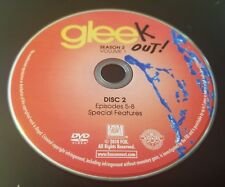 Glee Season 2 Volume 1 Disc 2 Replacement Dvd Tested Free Shipping (BK1)